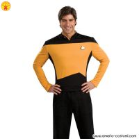 STAR TREK™ DLX. GOLD SHIRT COMMAND UNIFO