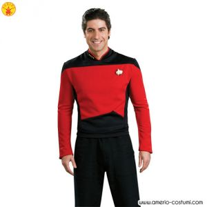 STAR TREK™ DLX. RED SHIRT COMMAND UNIFOR