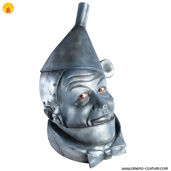 TIN MAN™ OVERHEAD LATEX MASK ADULT