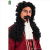 Captain Hook wig with mustache