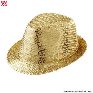 Cappello IN PAILLETTES - ORO