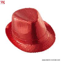 Cappello IN PAILLETTES - ROSSO