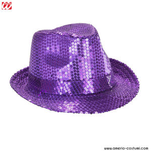Cappello IN PAILLETTES - VIOLA