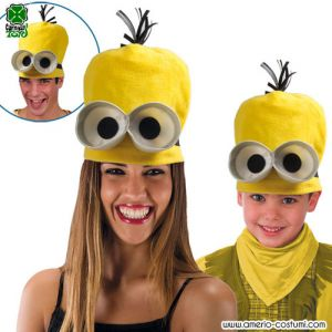 Cappello MINION GIALLO IN PILE