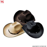 Cappello COW-BOY IN FELTRO CON BORCHIE