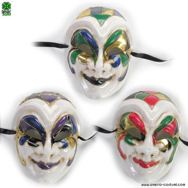Maschera IN CARTAPESTA - disp. 3 colori