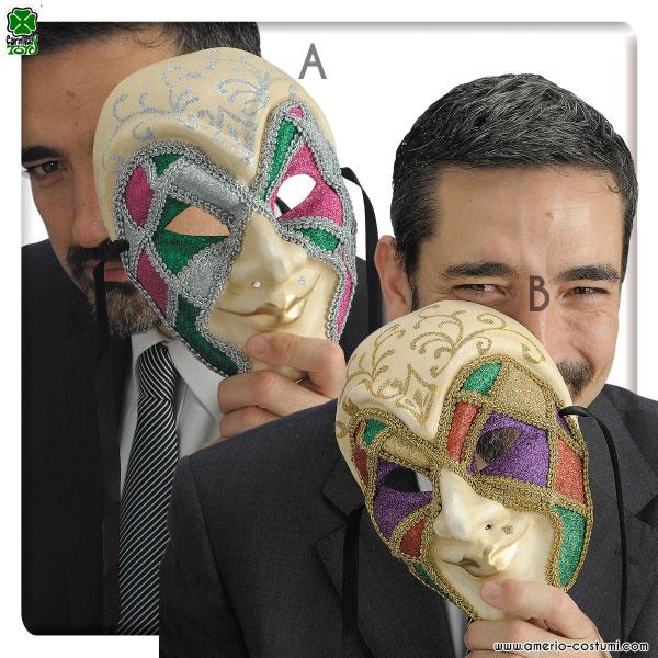 Maschera IN CARTAPESTA - disp. 2 mod.