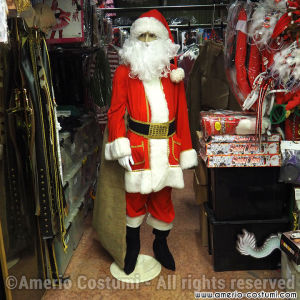 COSTUME BABBO NATALE EXTRA LUSSO - AFFITTO