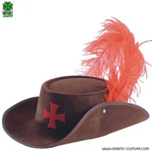 Cappello D'ARTAGNAN - MARRONE