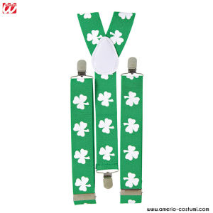 ST. PATRICK'S DAY SHAMROCK BRACES