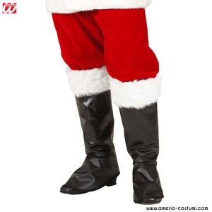 SANTA CLAUS BOOT COVERS