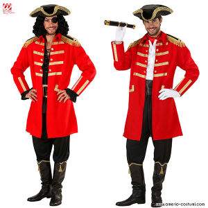 PIRATE / CAPTAIN - RED