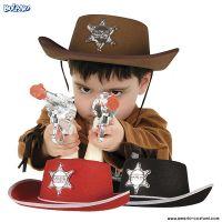 Cappello SCERIFFO - disp. 3 col. - Bambino