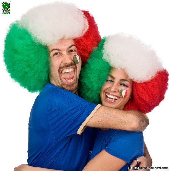 Parrucca ITALIA - diam. 40 cm