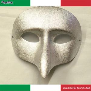 Maschera PULCINELLA - ARGENTO