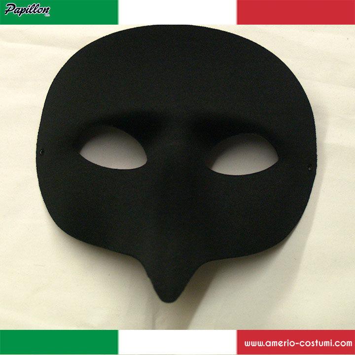 Maschera PULCINELLA - NERA 5f4d32563b08