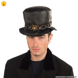 STEAM PUNK BELTED HAT
