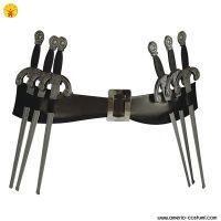 Cintura V FOR VENDETTA con pugnali