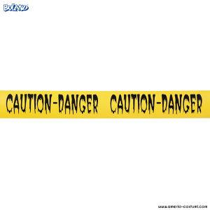 """NASTRO """"CAUTION-DANGER"""" - 10 M"""