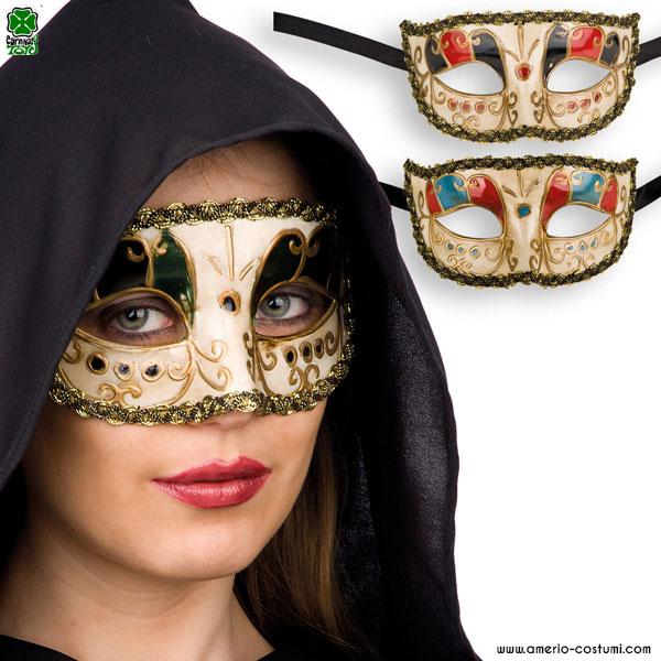Maschera VENEZIANA - disp. 3 col.