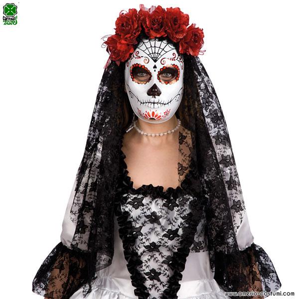 Maschera DIA DE LOS MUERTOS - Donna