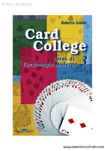 GIOBBI ROBERTO - CARD COLLEGE 3 - FLORENCE ART