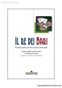 PREVERINO GIANFRANCO - IL RE DEI BARI - FLORENCE ART