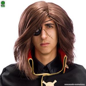 Parrucca Capitan Harlock