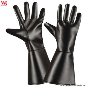 CHARACTER GLOVES LEATHERLOOK - BLACK