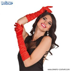 GLOVES HOLLYWOOD - RED