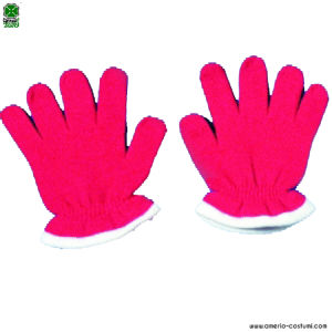 CHILD GLOVES - RED