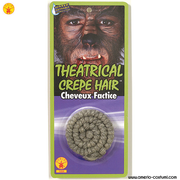 THEATRICAL CREPE HAIR
