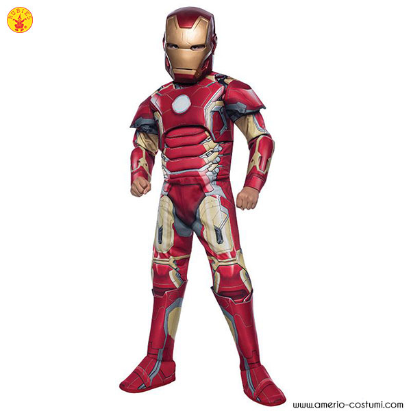IRON MAN MARK 43 Dlx - Bambino