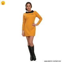 STAR TREK™ DLX. GOLD DRESS COMMAND UNIFO