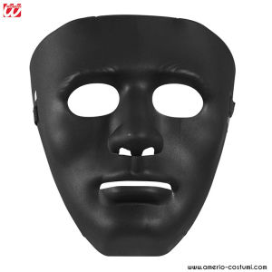 BLACK ANONYMOUS MASK