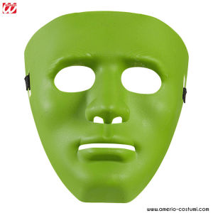 GREEN ANONYMOUS MASK