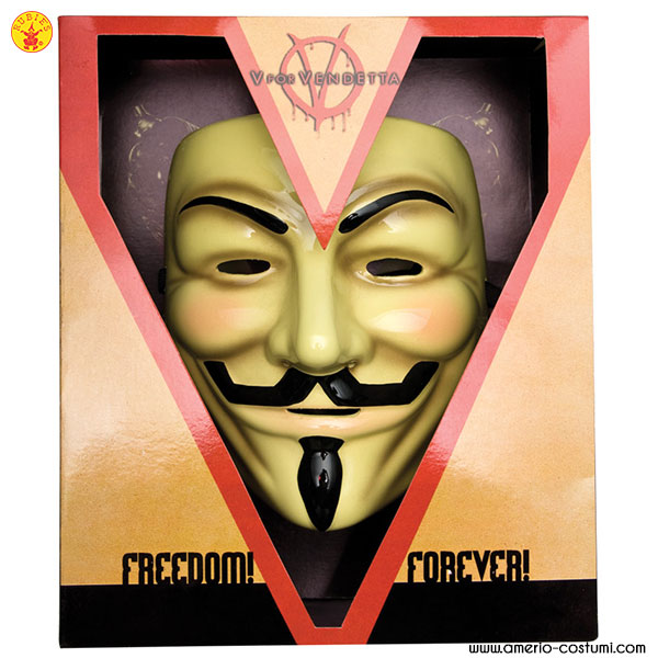 Maschera V FOR VENDETTA Dlx