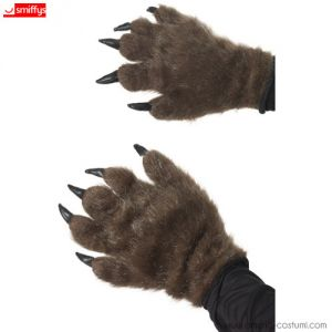 HAIRY MONSTER HANDS - BROWN