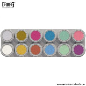 WATER MAKE-UP PEARL - Palette 12 Color