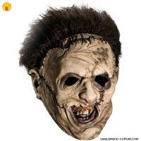 Maschera LEATHERFACE in vinile