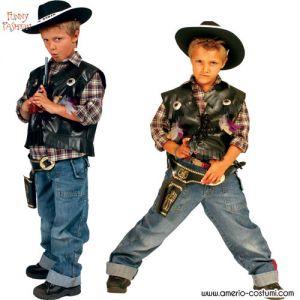 Gilet FRONTIER SHERIFF - Bambino