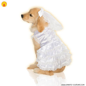BRIDE / SPOSA - Pet Costume