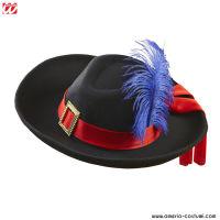 Cappello MOSCHETTIERE in feltro spazzolato