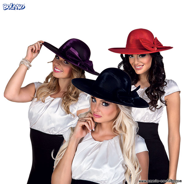 Cappello ROYAL ASCOT - disp. 3 col.