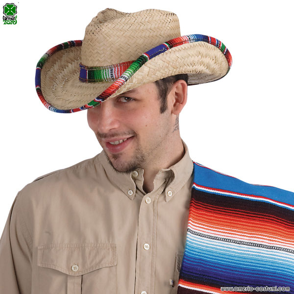 Cappello COW-BOY in paglia
