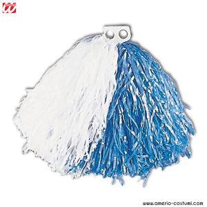 Pom Pom - WHITE/BLUE