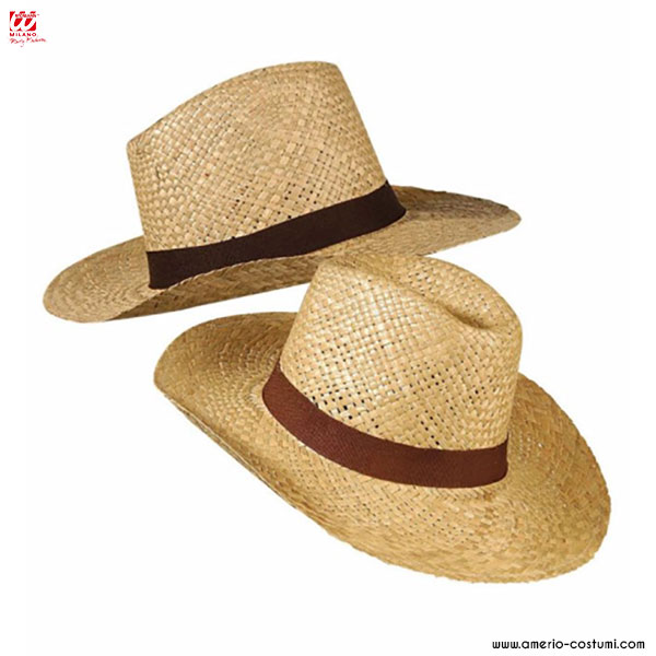 STRAW SAFARI HAT