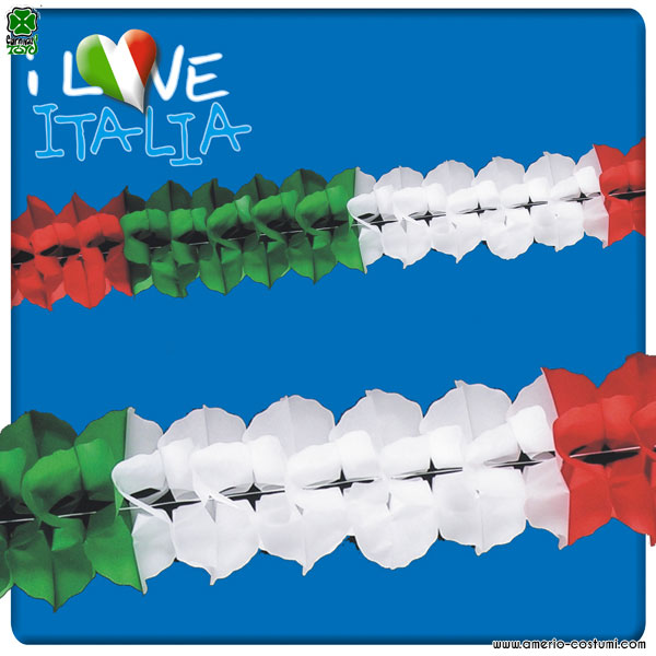 Party Drapeaux ITALIE - 10 m