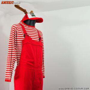Costume AIUTANTE ELFO - ROSSO