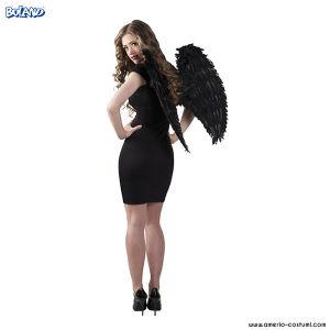 ALI ANGELO IN PIUME - 65x65 cm - Nere